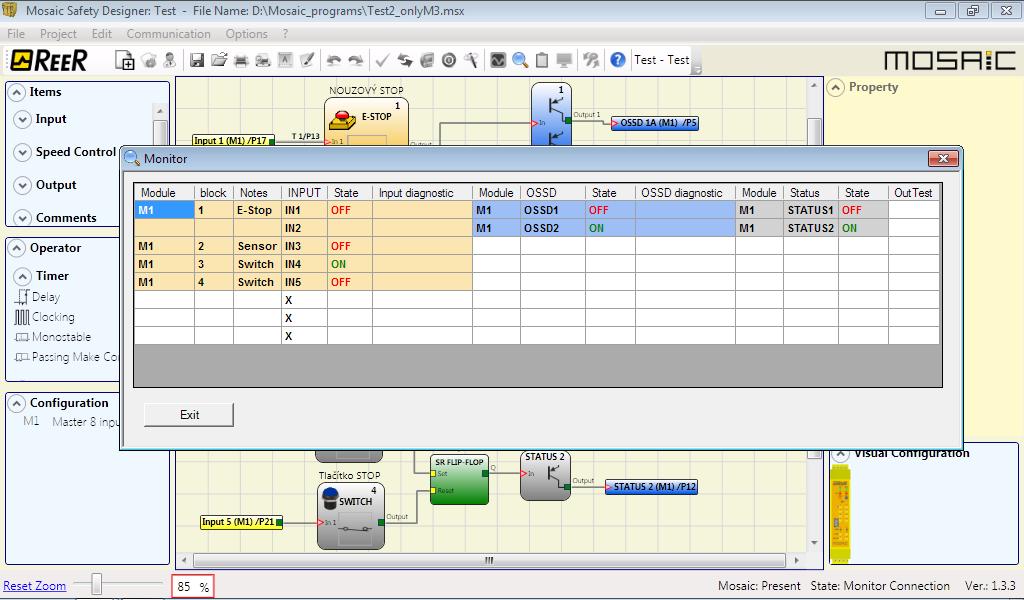 Reer Mosaic Safety Designer Software