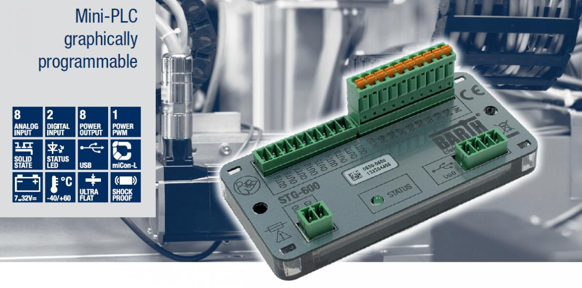 V ČR asi prakticky neznámá německá společnost BARTH Elektronik GmbH  (založená v roce 1993) letos uvedla na trh svoji novou další řadu mini PLC  pod označením ... a9397d9a793