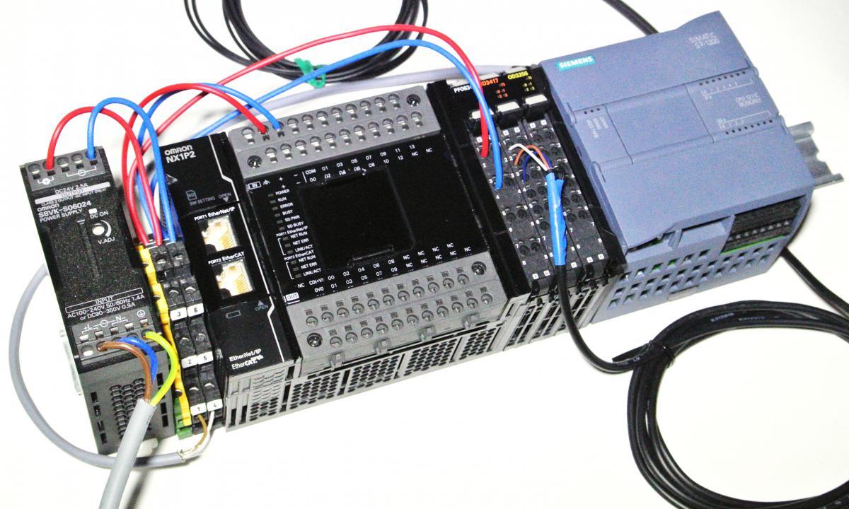Test - V U00fdkonn U00e9 Kompaktn U00ed Plc Omron Nx1p2 - 2 D U00edl