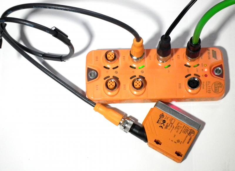 Entfernungsmesser Profinet S Profinet Io Professional: IO-Link Master S Komunikací Profinet = IFM AL1100