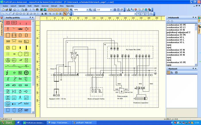 Proficad Elektro Cad Software Automatizace Hw Cz