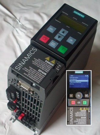 Sinamics G120C a IOP panel